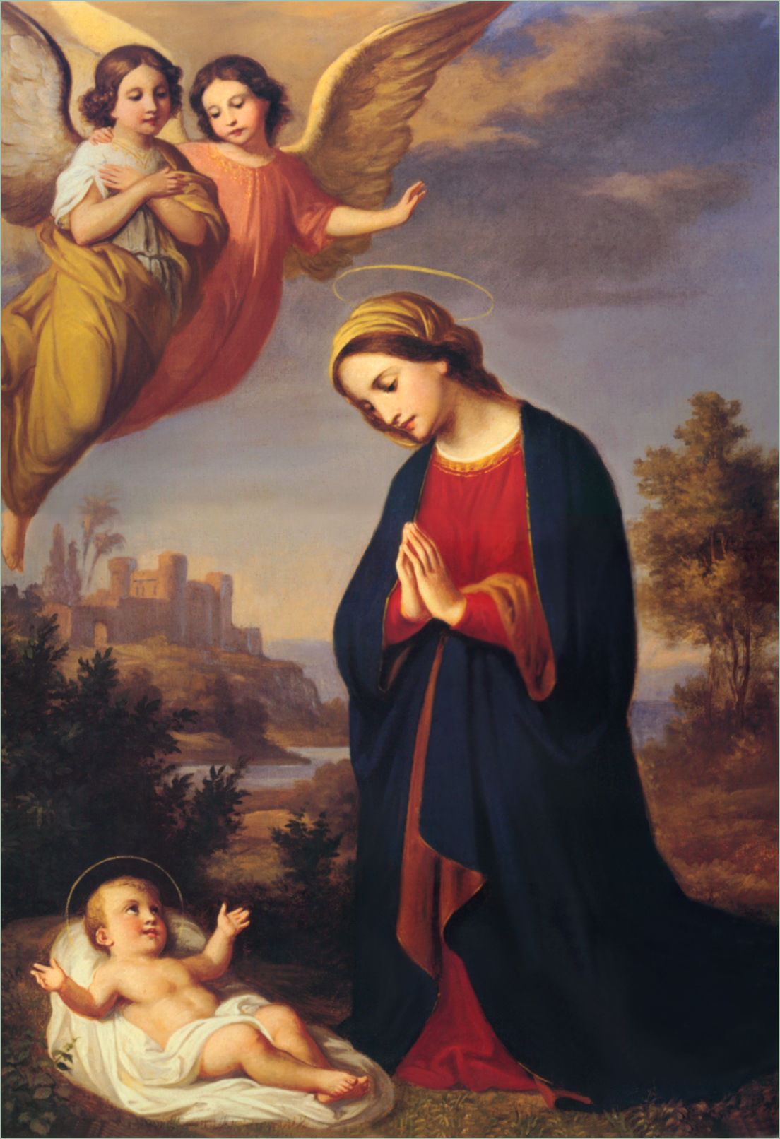Image result for Mary and the Guardian Angels