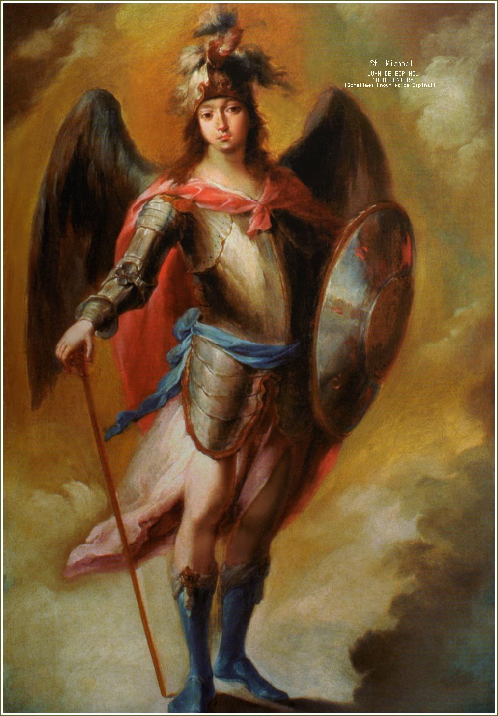 L'Arcangelo Michele dans immagini sacre archangel-michael19