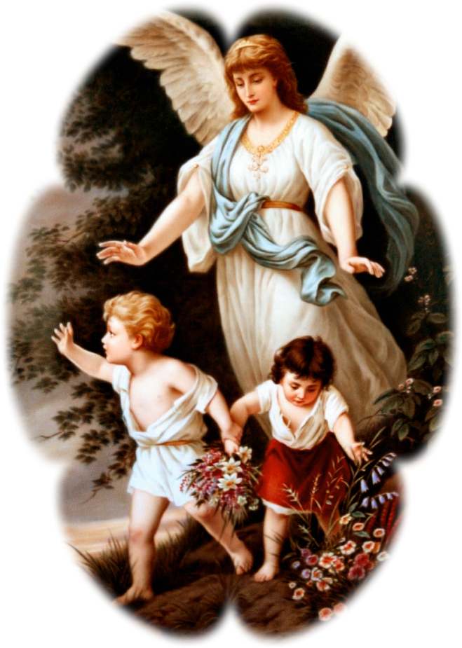 GUARDIAN ANGEL WITH PHOTO EDGE