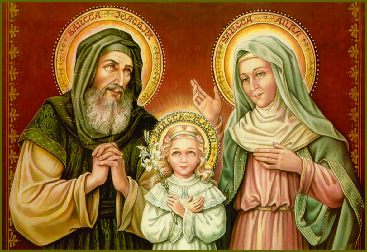 HOLY FAMILY OF STS. JOACHIM AND ANNE
