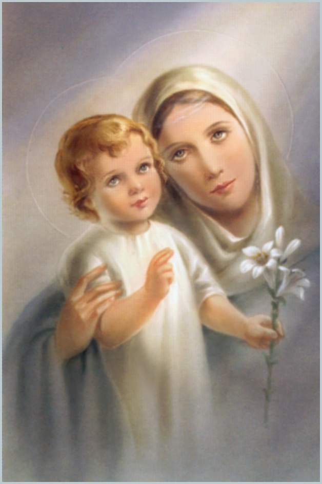 Virgin Mary Catholic Of the blessed virgin mary