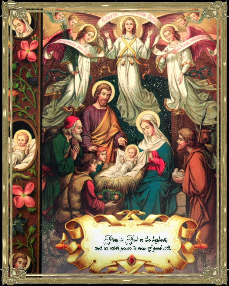 THE STORY OF THE CHRISTMAS CRECHE