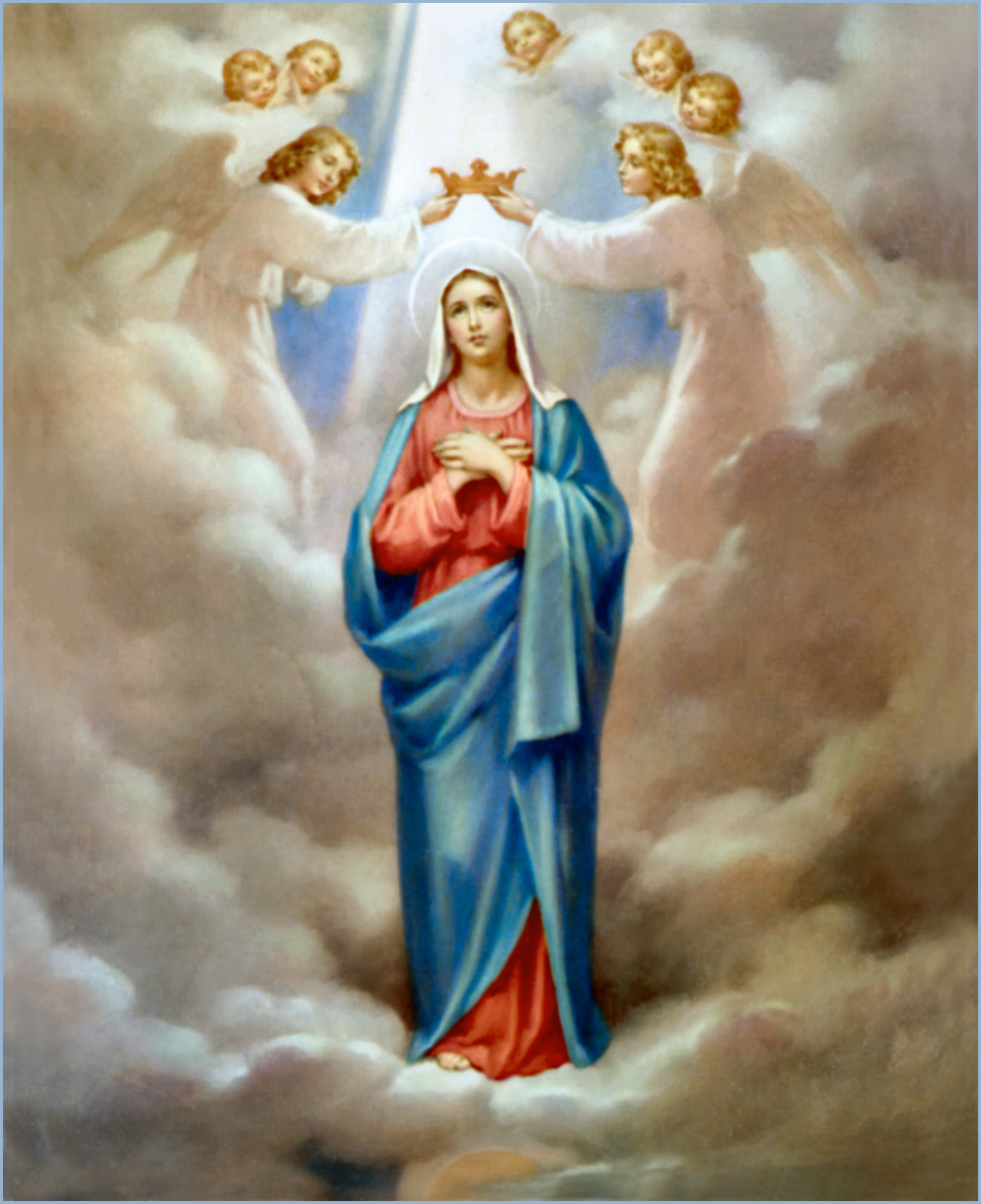 The Coronation Of Virgin