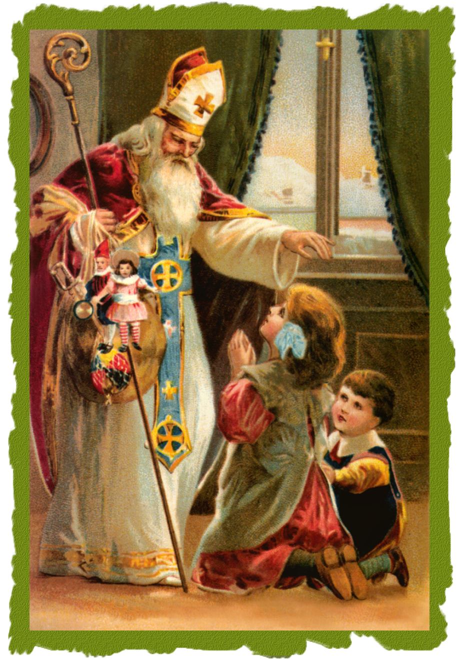 St nicholas patron saint of what