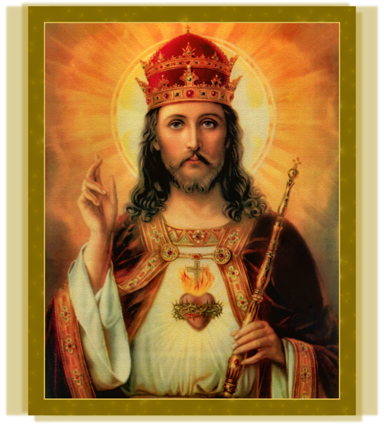 CHRIST THE KING TEXTURIZED