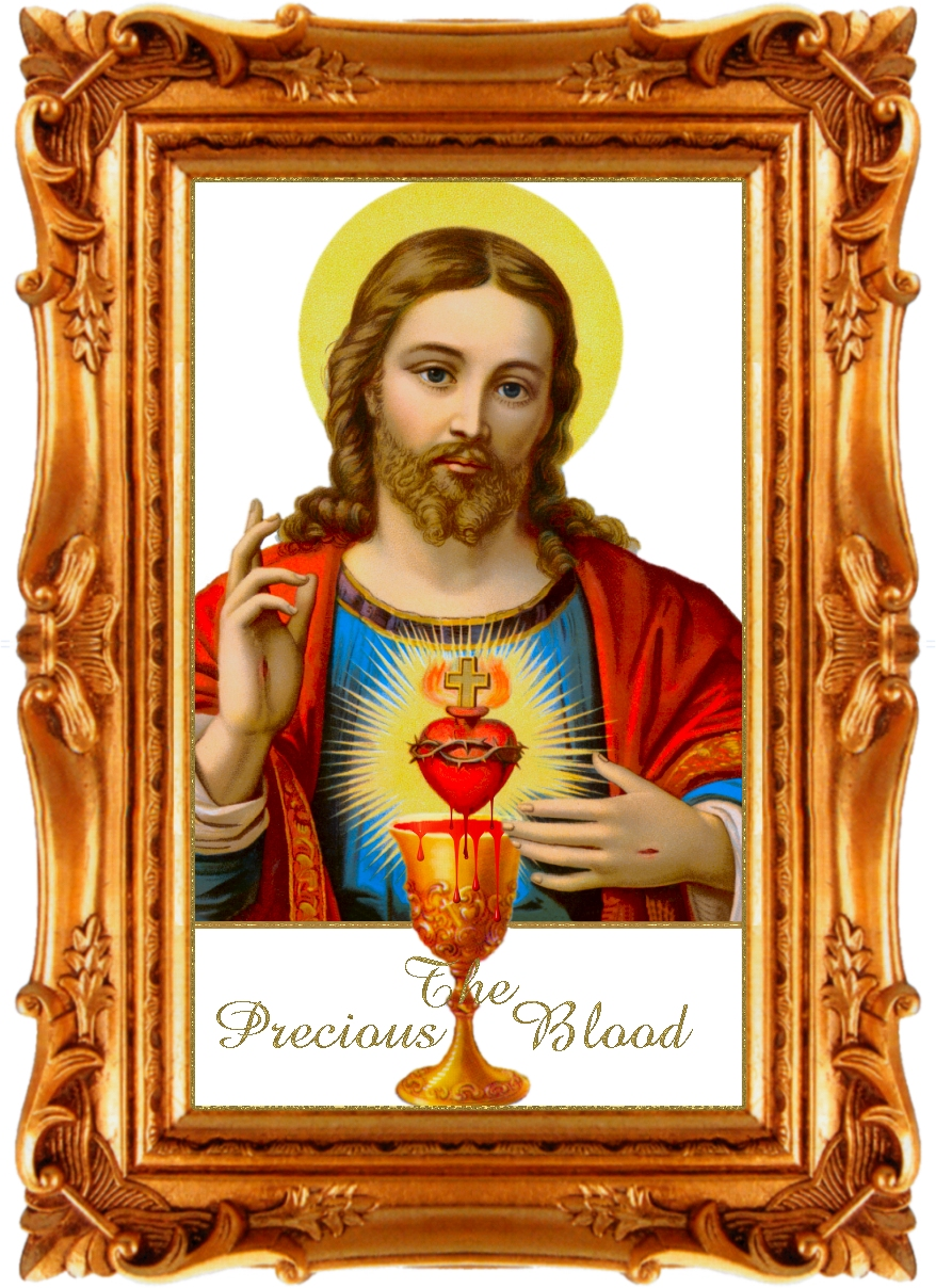 WELCOME TO PRECIOUS BLOOD CATHOLIC CHURCH