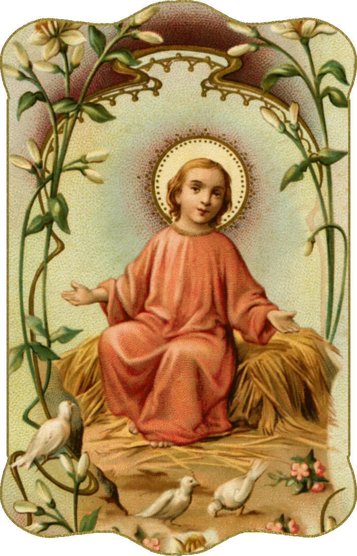 Old Holy Card