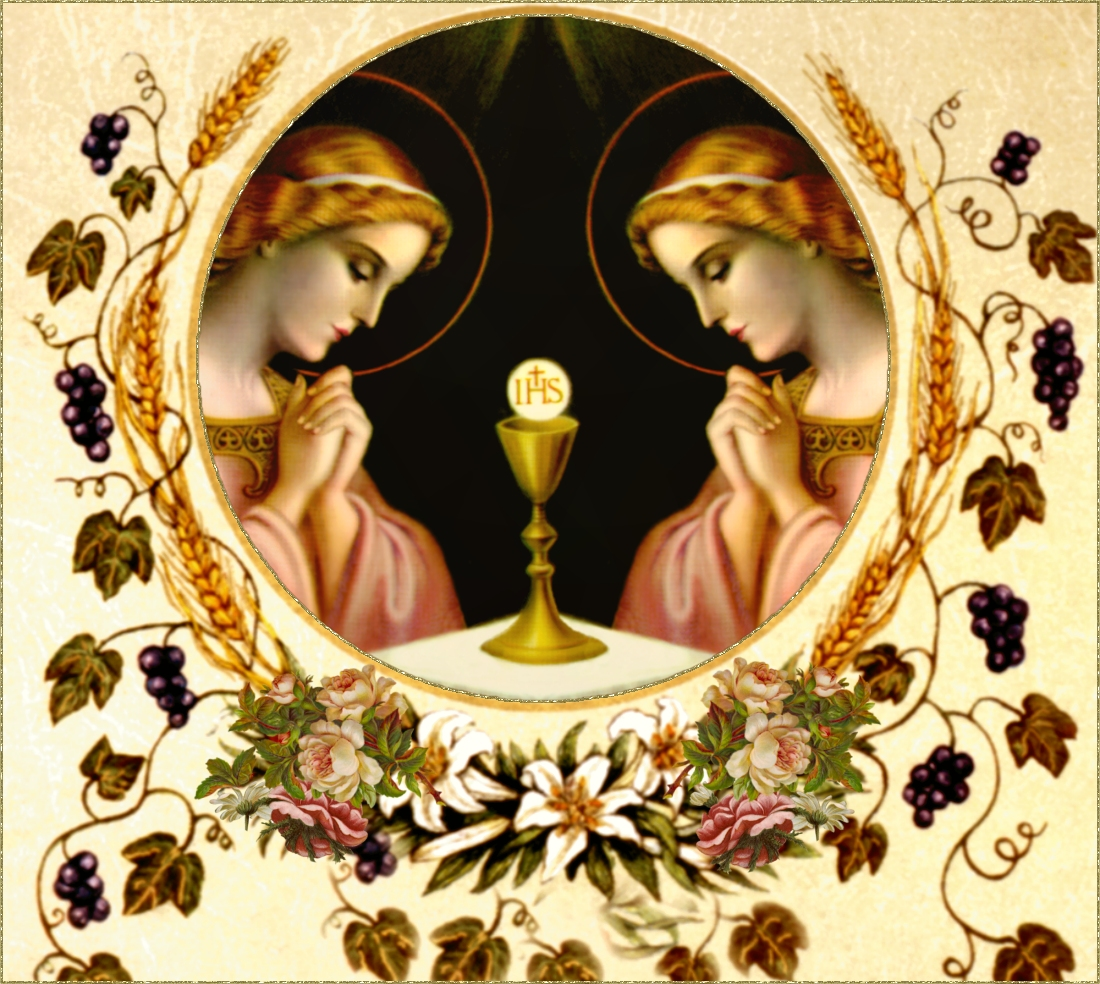 what is the eucharist The eucharist is a sacrifice of thanksgiving to the father, a blessing by which the church expresses her gratitude to god for all his benefits, for all that he has accomplished through creation.