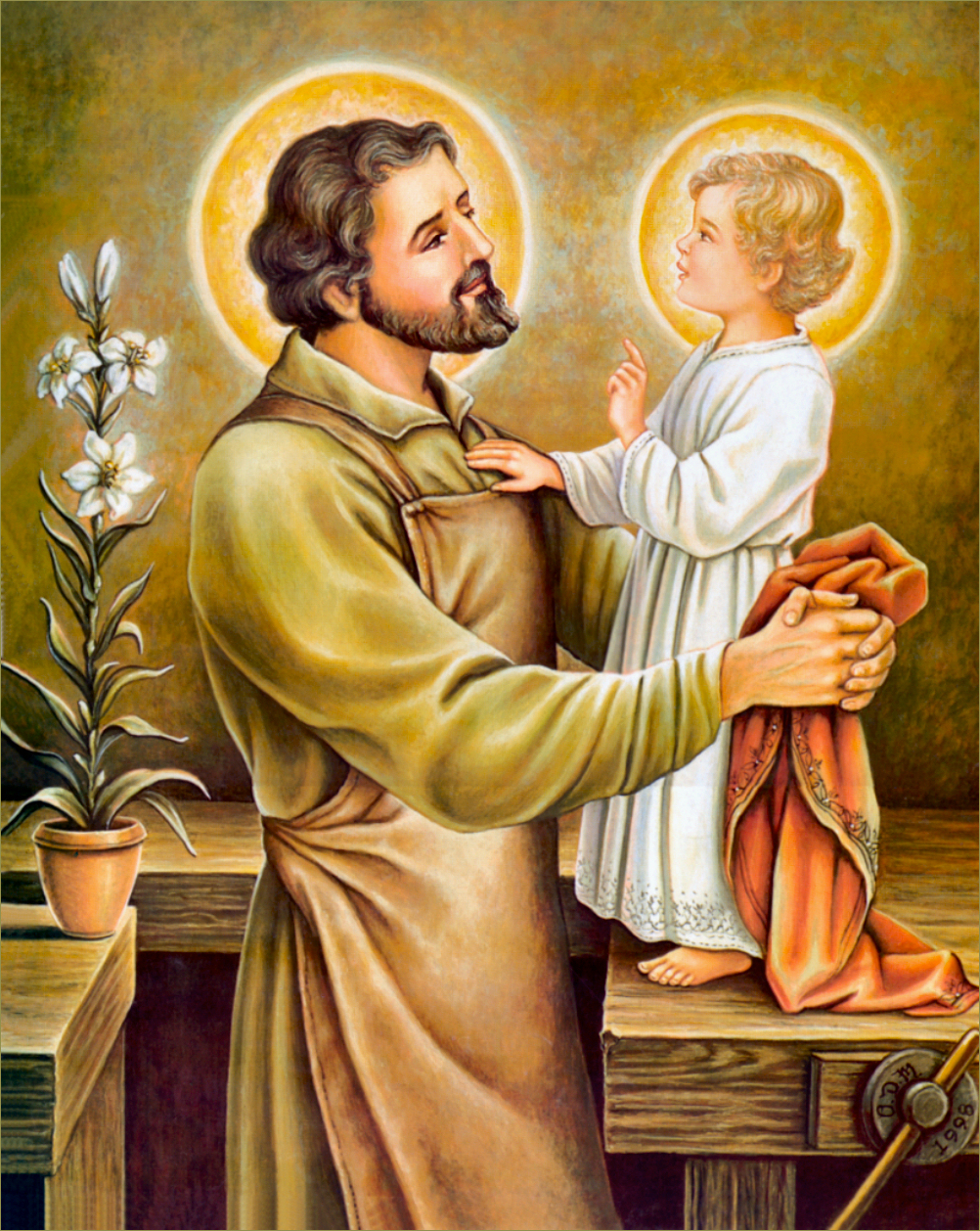 saint joseph For instance, the gospel does not record one spoken verse for st joseph  nevertheless, what this great saint did in his life for god speaks volumes  to  spouses, to parents, to those who live by the work of their hands or by any other  work,.