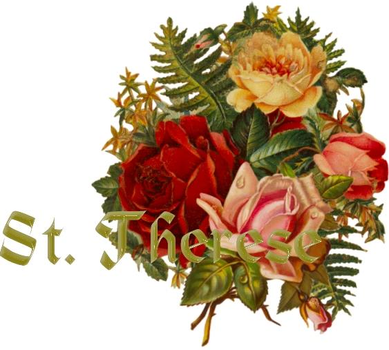 Saint therese novena rose prayer
