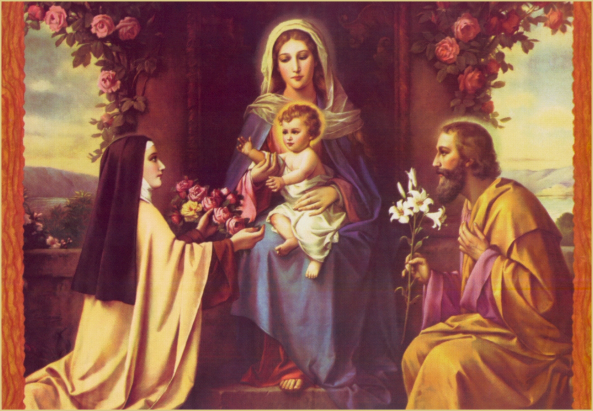IMAGE 12 WITH THE HOLY FAMILY