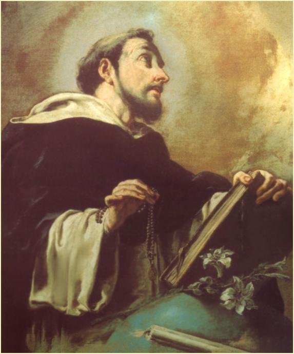 ST. DOMINIC FULL IMAGE PLAIN