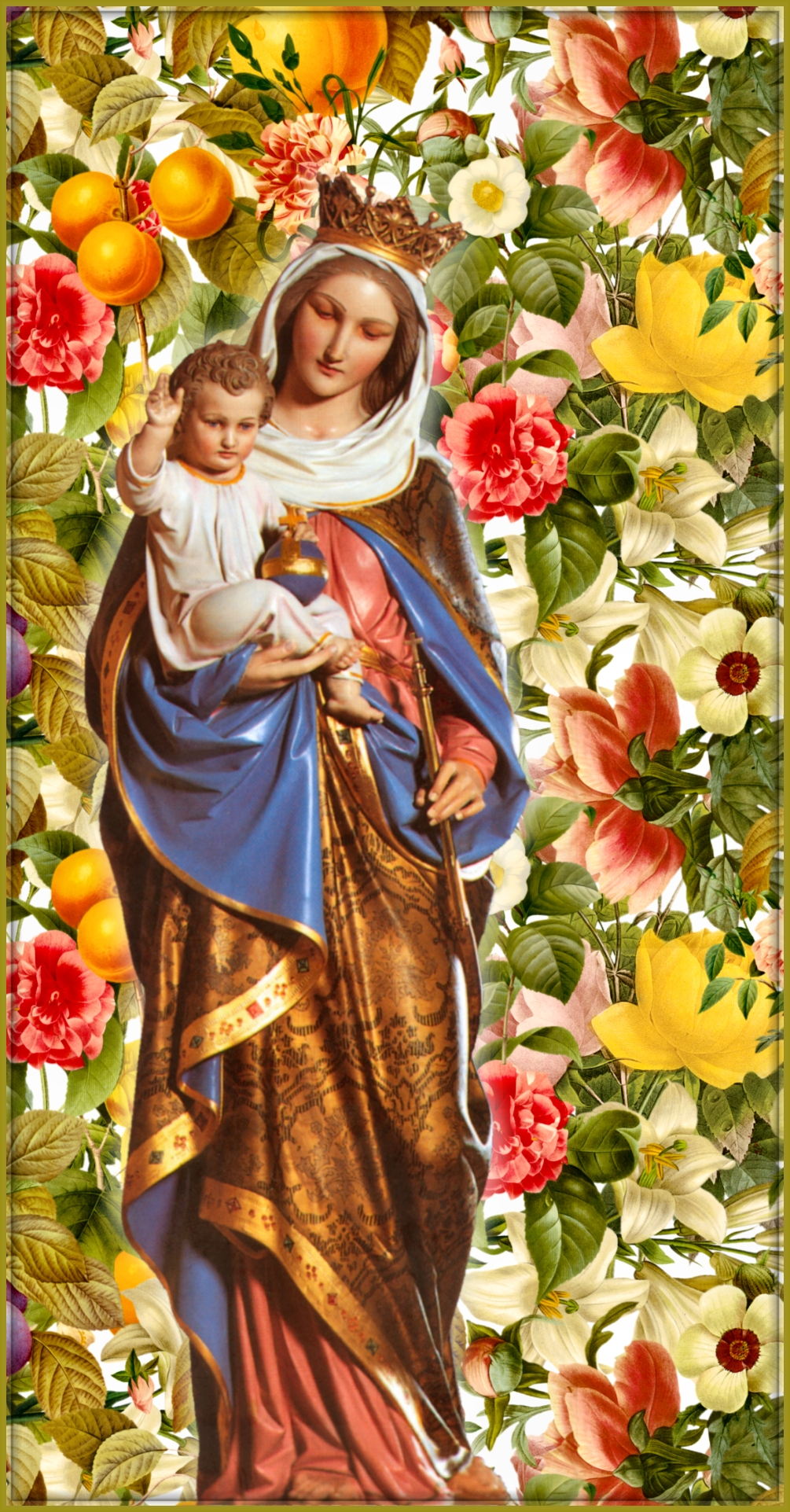 The Flowers of the Blessed Virgin Mary TOM PERNA