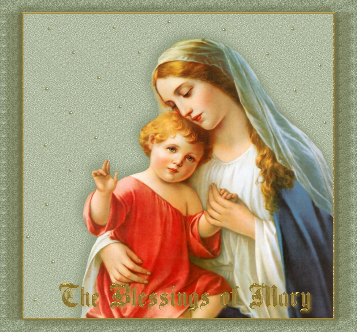 What offer prayers to the Virgin Mary about children