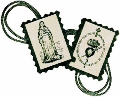 Why I wear the Brown Scapular of Our Lady of Mount Carmel ...