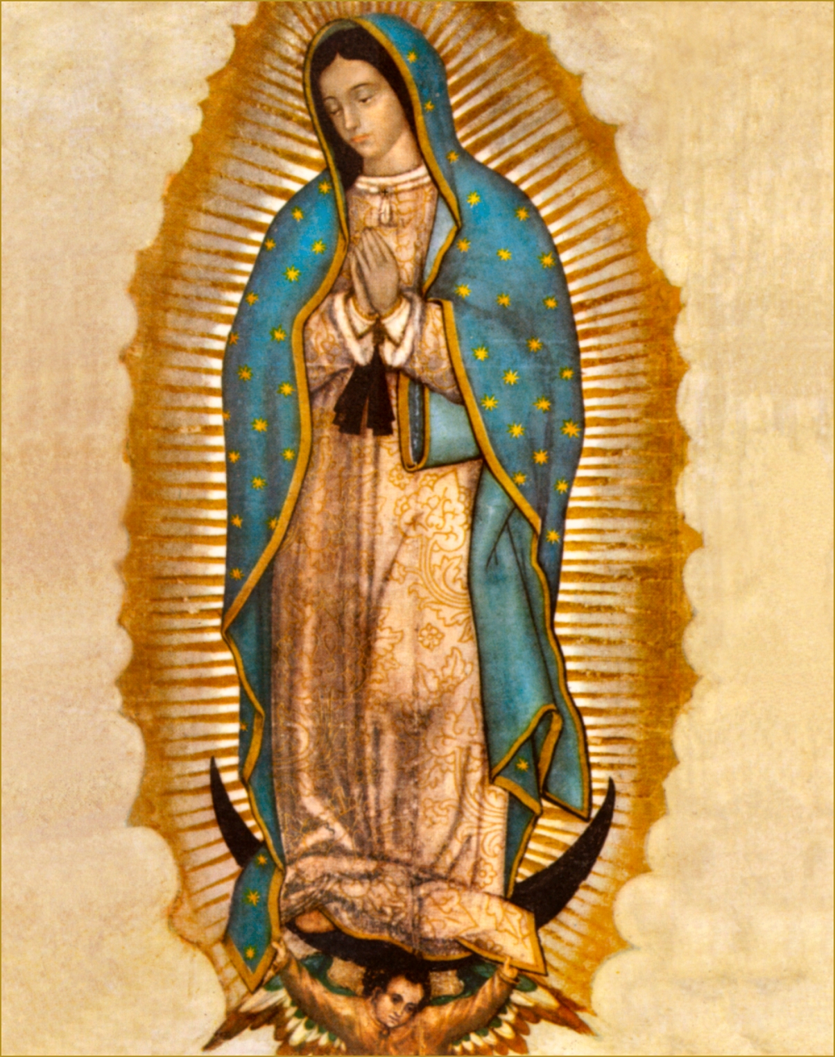 Feast Of Our Lady Of Guadalupe With Little Gallery