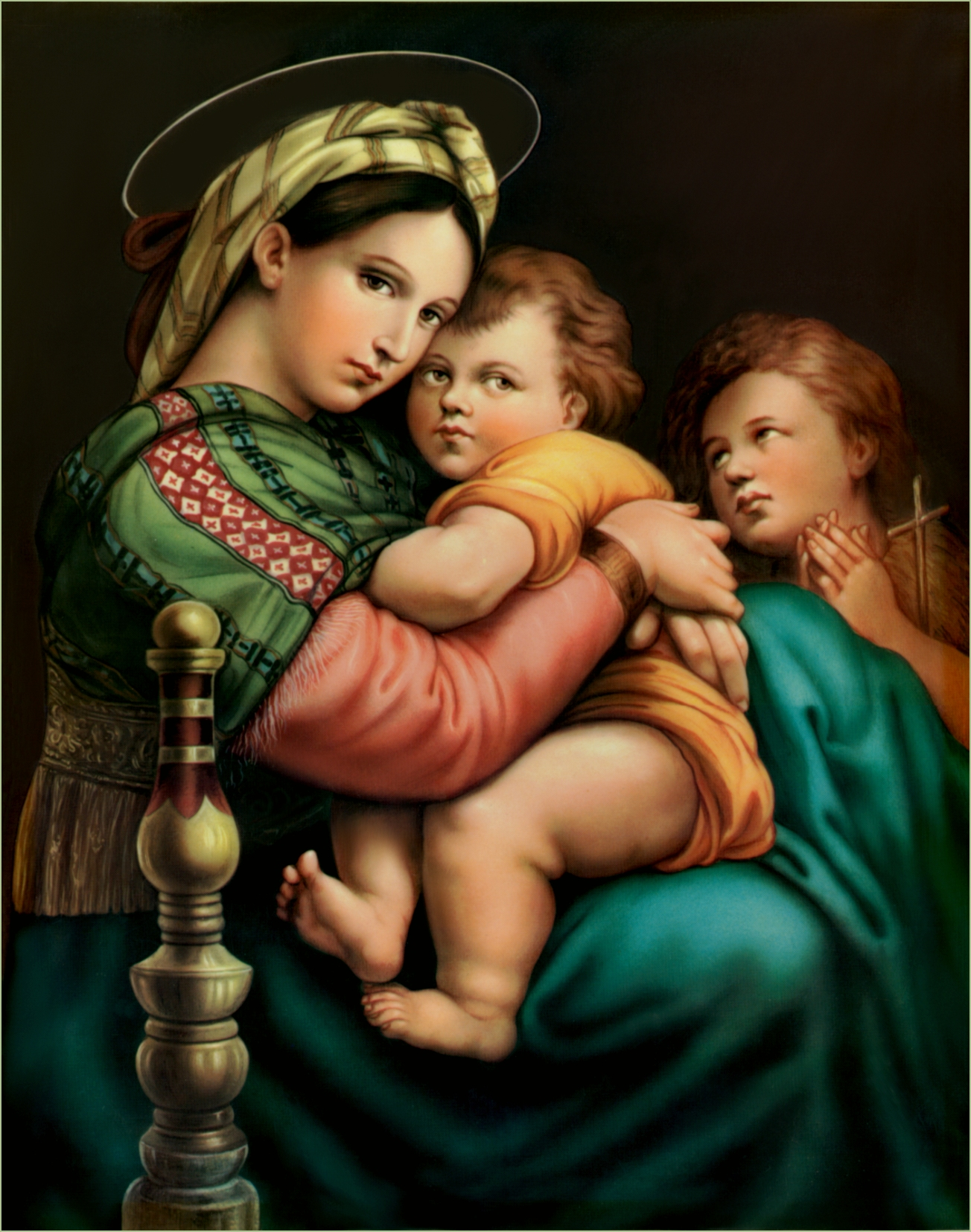 visual analysis of madonna of the meadow by raphael 536 results raphael sanzio, usually known by his first name alone (in italian raffaello) (april 6 or march 28, 1483 - april 6, 1520) was an italian painter and architect of the high raphael reproductions - madonna & child (madonna del granduca) 1505 reproduction oil paintings - raphael - madonna of the meadow.