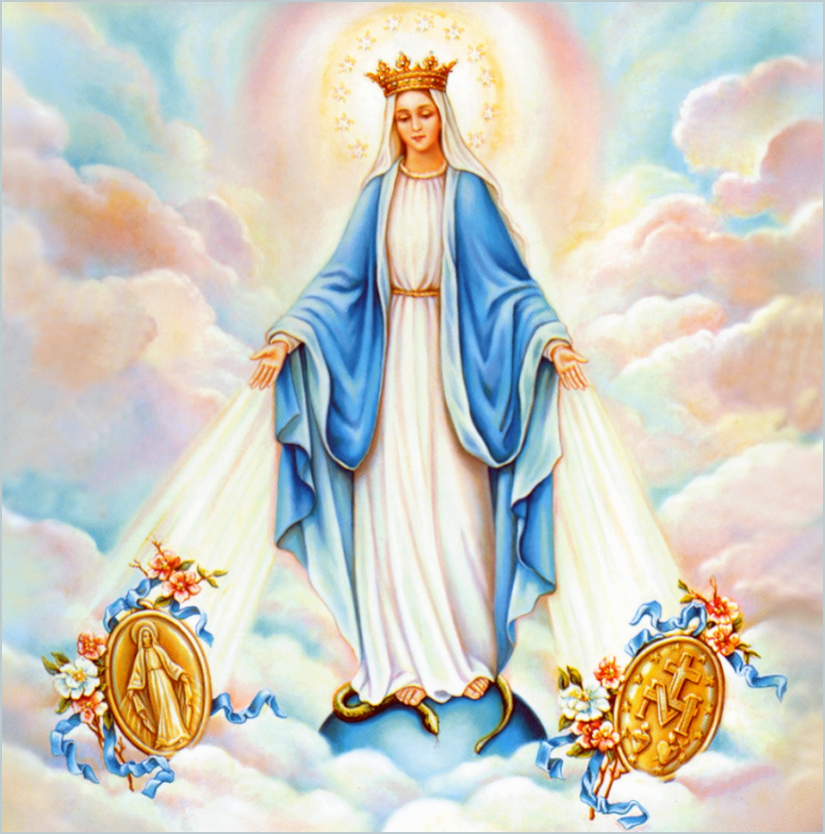 virgin mary immaculate conception