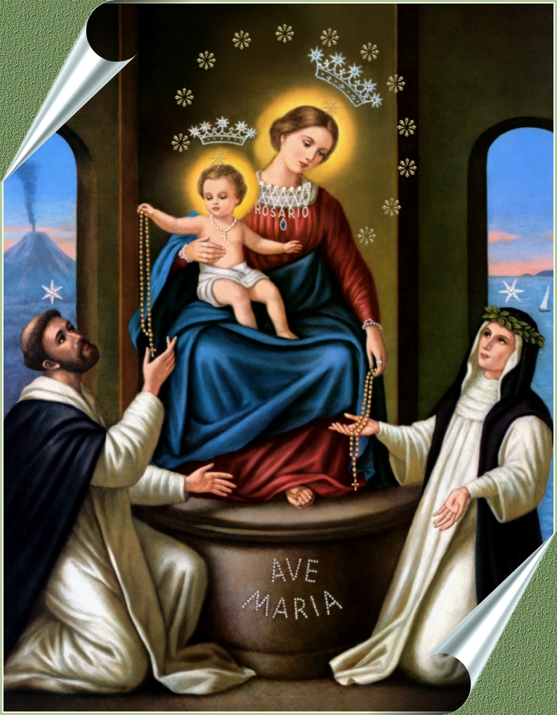 Image result for Holy Mary of the Rosary