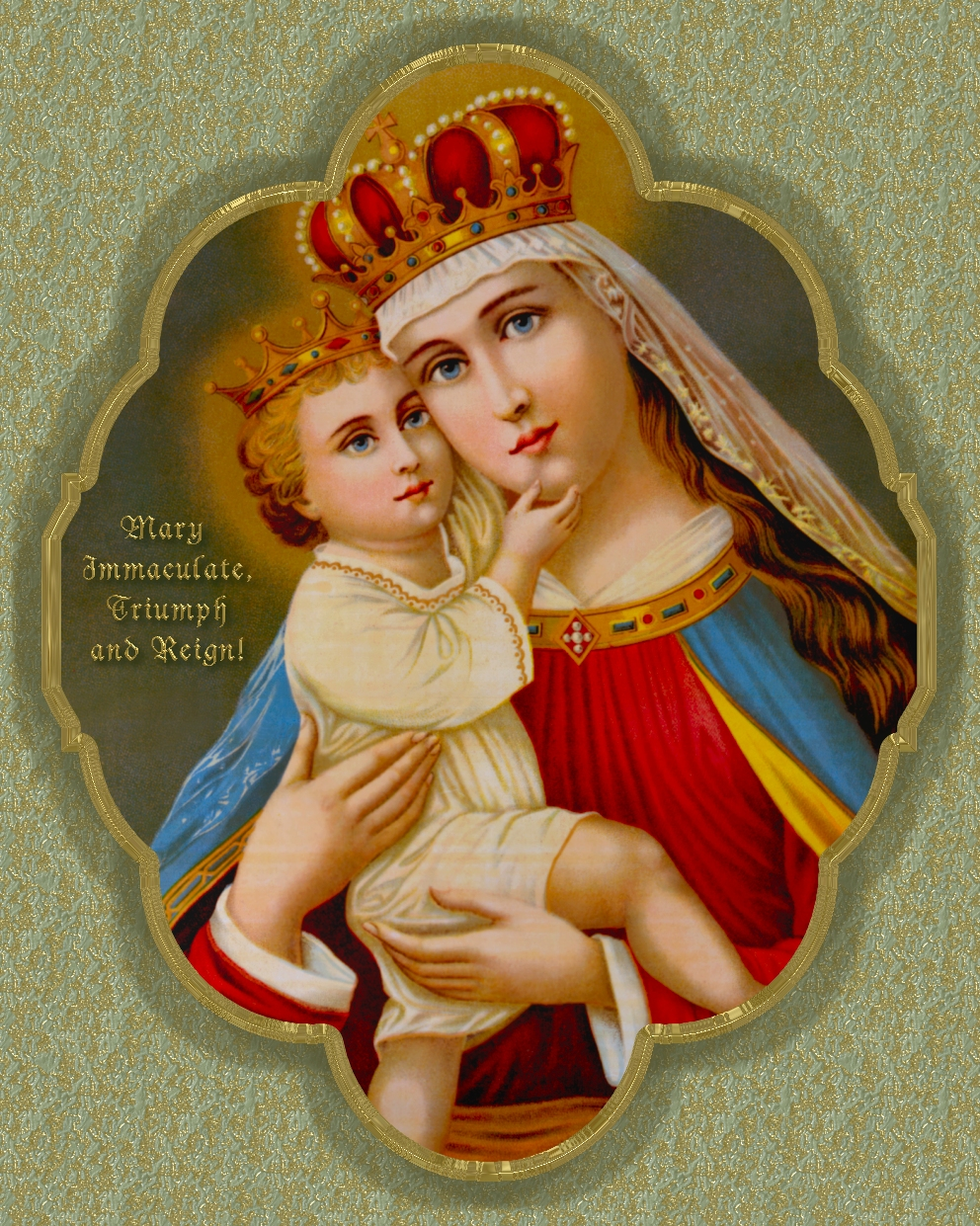 QUEENSHIP OF THE BLESSED VIRGIN MARY: TRADITIONAL LATIN ...