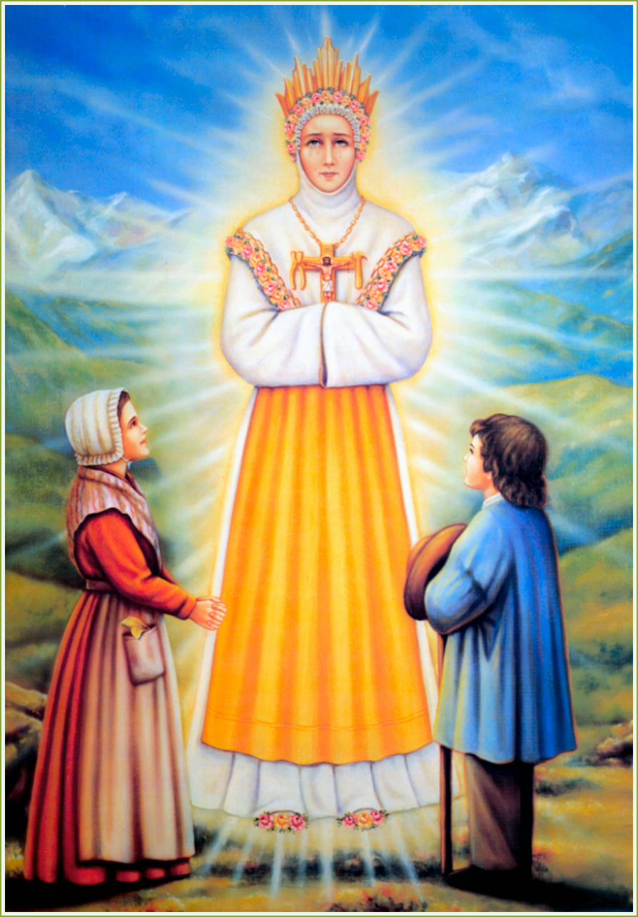 Our Lady Of Lasalette Damsel Of The Faith