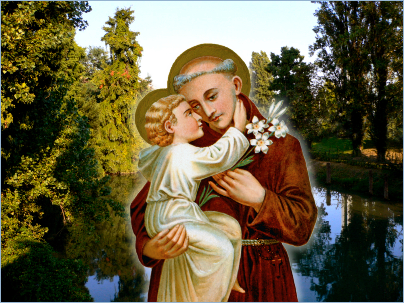Paduan River Composite With St Anthony