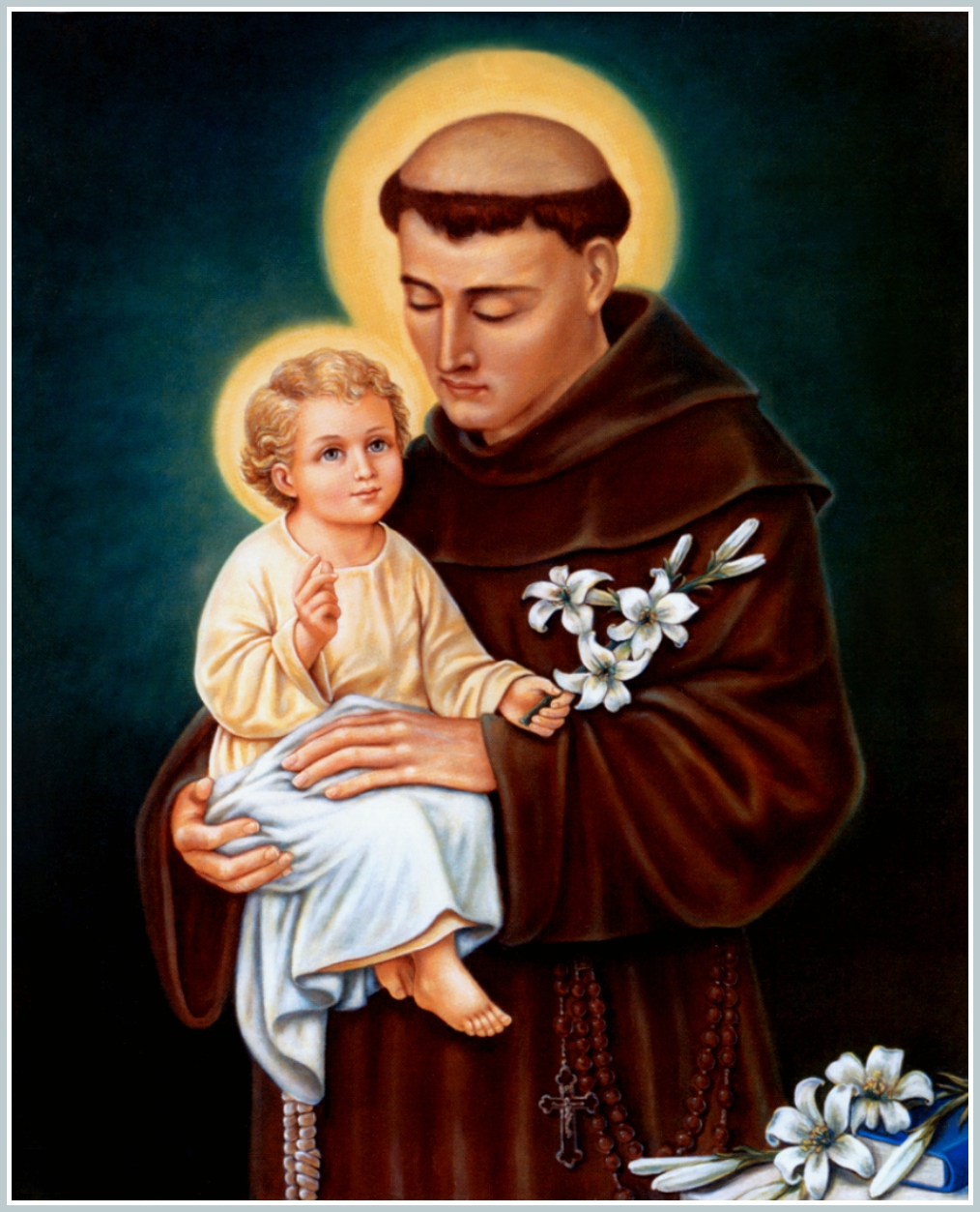 Image result for free image of saint anthony