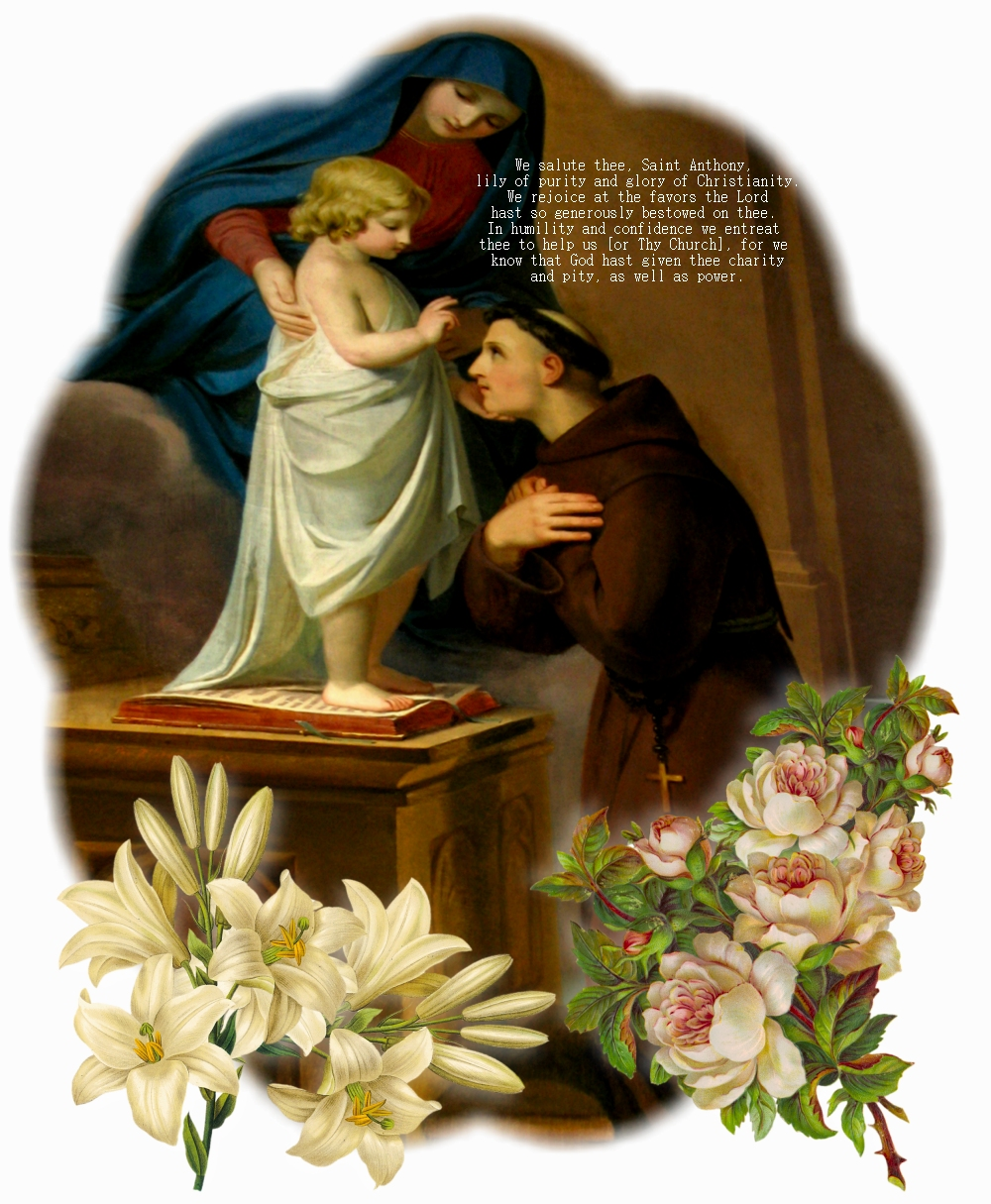prayer to st anthony for love