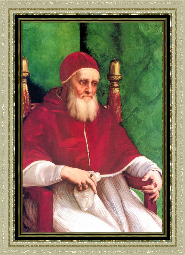 a biography of pope julius ii Pope saint julius ii (2 june 1845 – 15 november 1938) born mihai marcovici was pope from 3 february 1903 to his death in 1938, making him the longest serving pope in the church's history he was canonized in 1950.