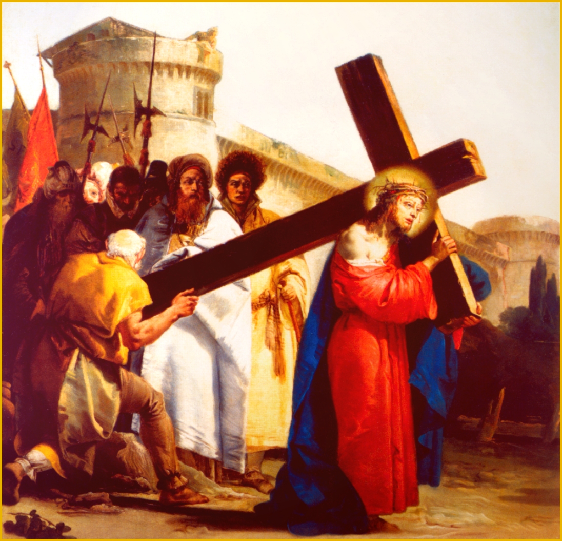 Jesus Carrying The Cross Passion Of The Christ | www ...