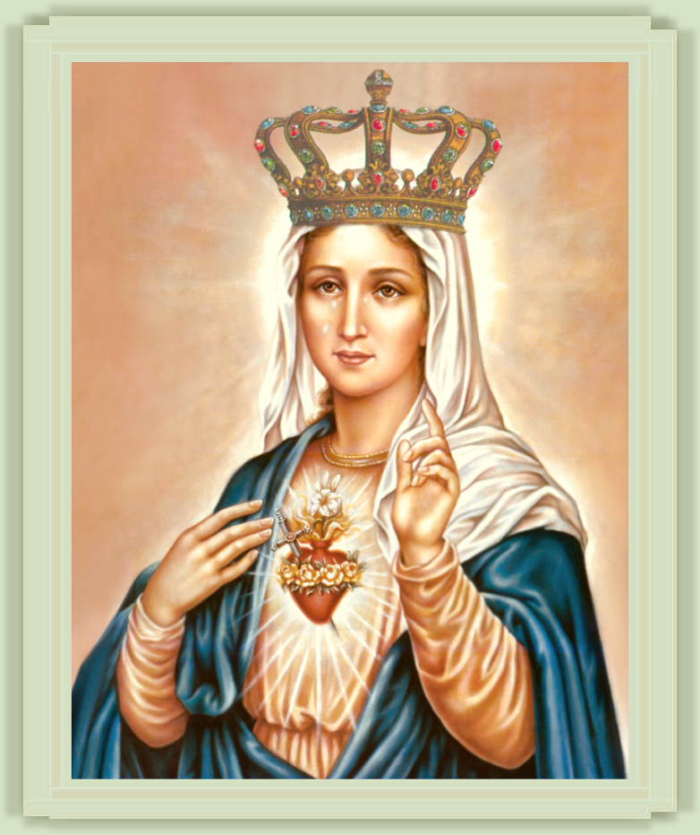 MARY, QUEEN OF MARTYRS
