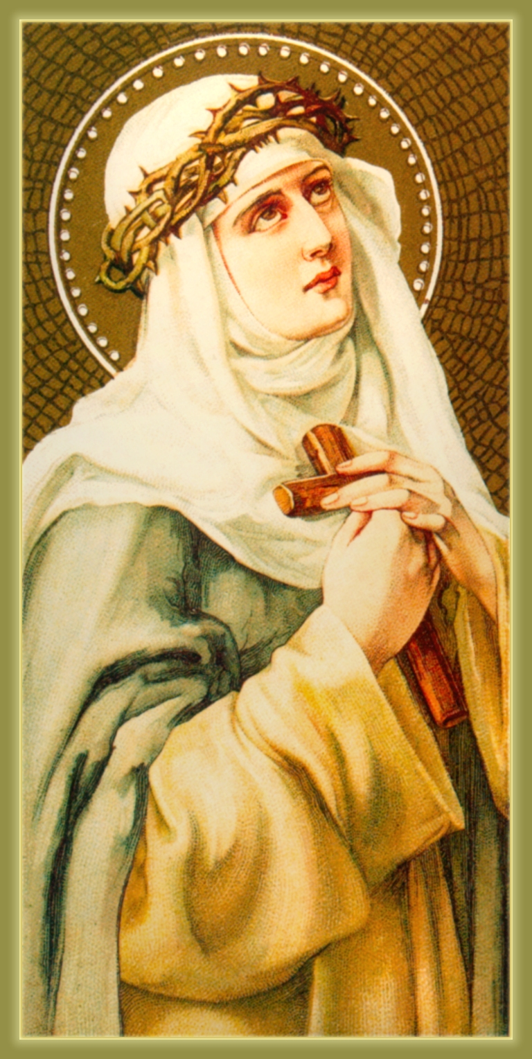 St. Catherine pray for a successful marriage