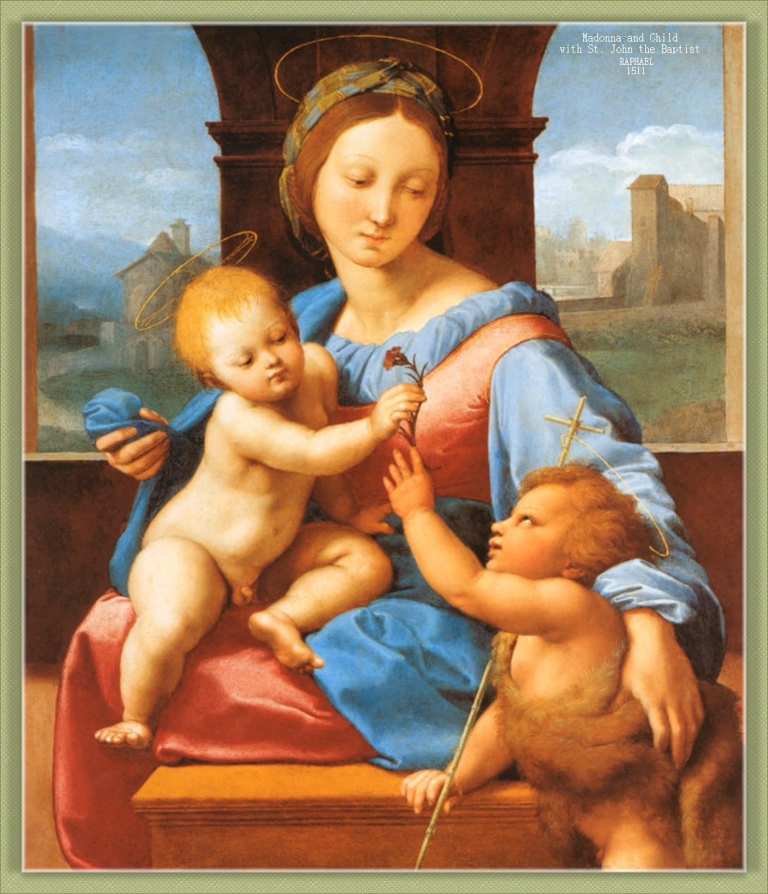 raphaels madonna of the meadows essay Masques & phases, by robert ross the project gutenberg ebook, masques & phases, by robert ross this ebook is for the use of anyone anywhere at no cost and with almost no restrictions whatsoever.