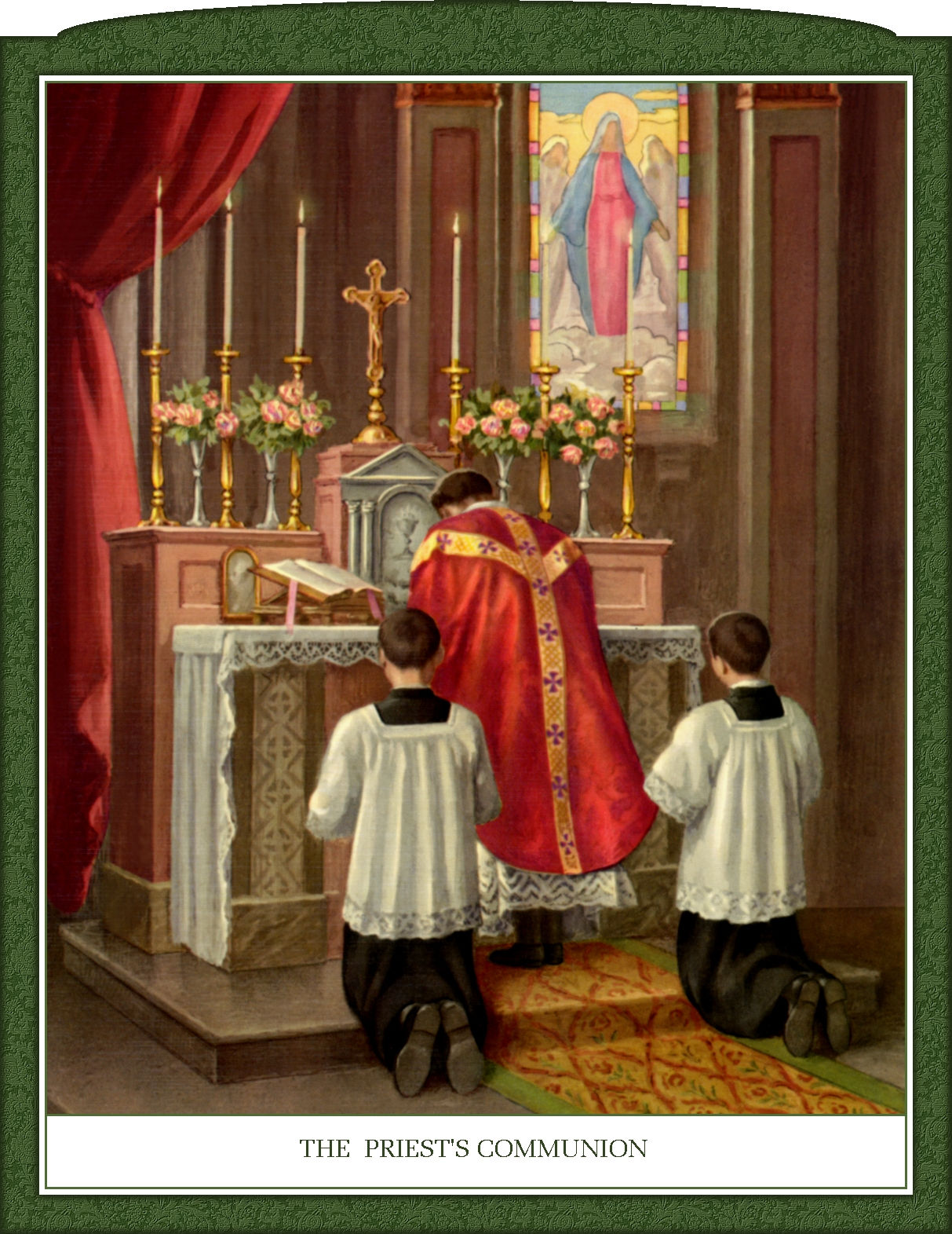 TRADITIONAL ROMAN MASS IN PICTURES