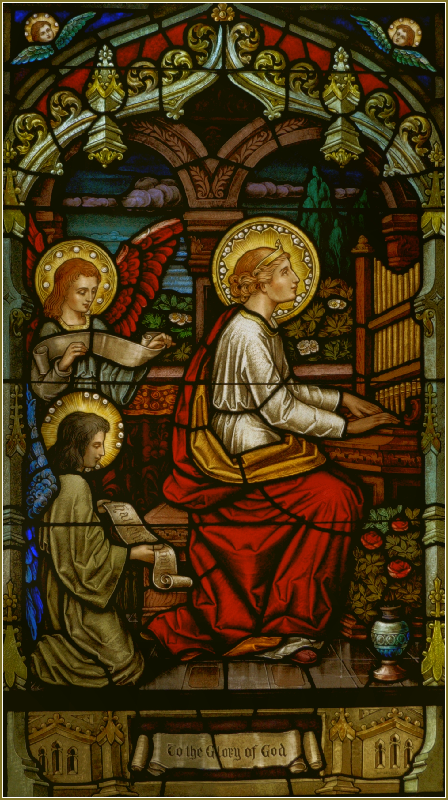 1000+ images about St. Cecilia -- Patroness of Musicians ...