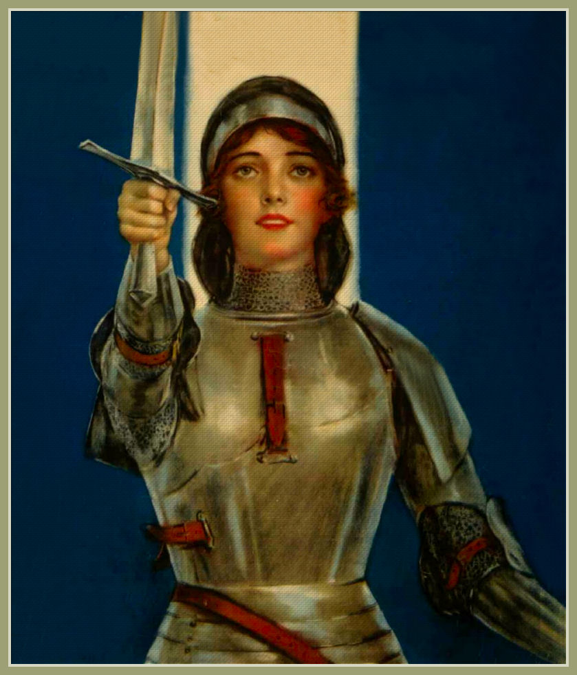 Joan Of Arc Painting | www.imgkid.com - The Image Kid Has It!