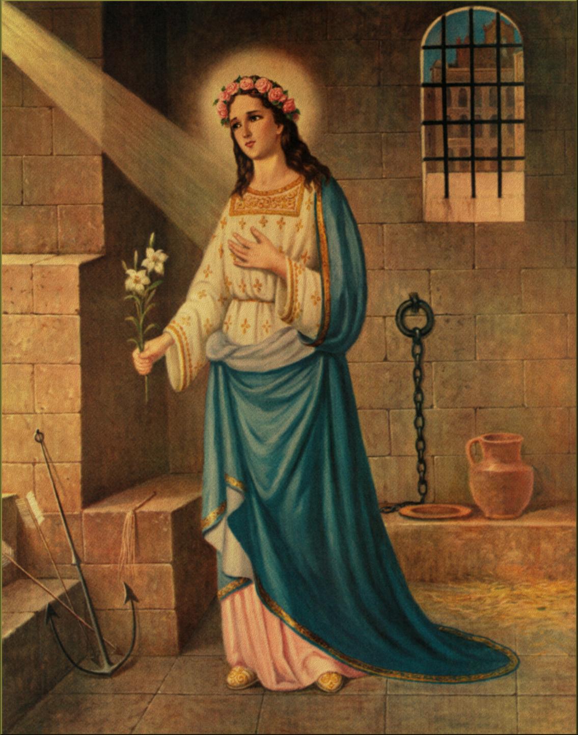 Saints And Angels Oracle Cards: SAINT PHILOMENA