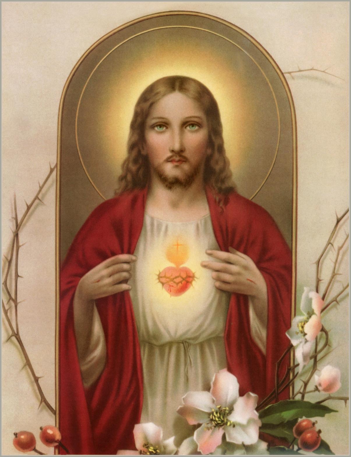 sacred heart of jesus prayer pdf