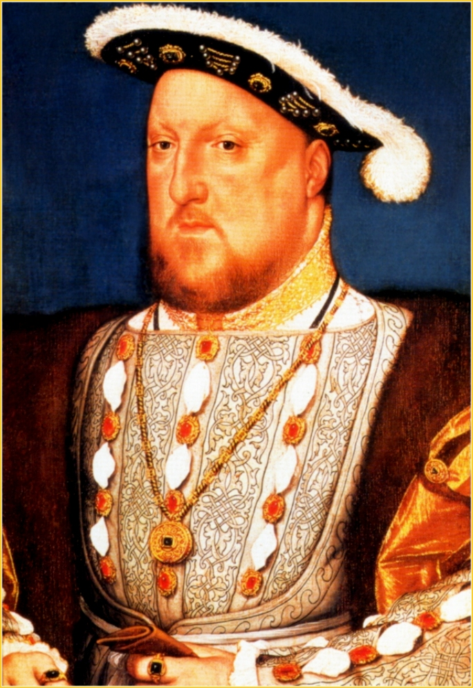 HENRY VIII BY HANS HOLBEIN YOUNGER