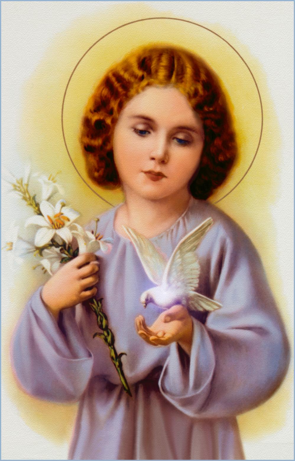 how to explain the holy spirit to a catholic child