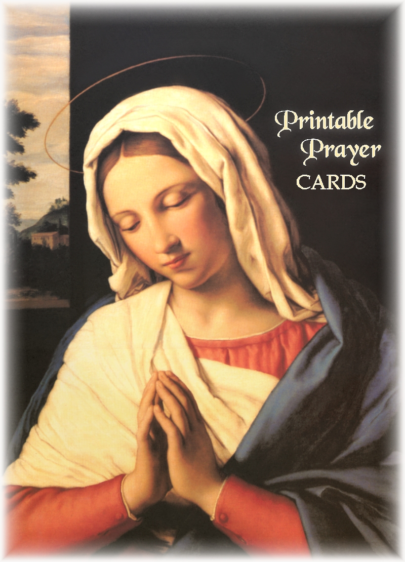 photograph about Printable Prayer Cards referred to as PRINTABLE PRAYER Playing cards
