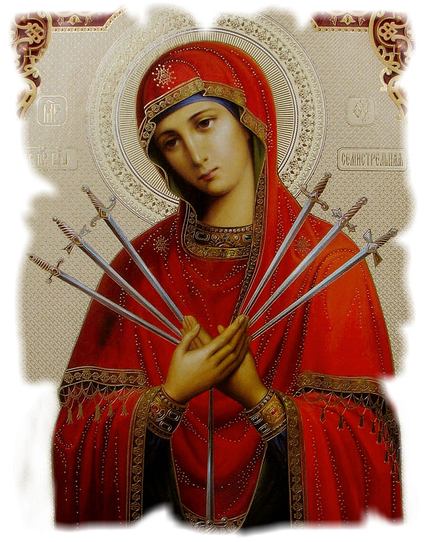 OUR LADY OF SORROWS ICON